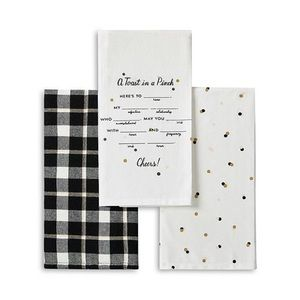 KAte Spade All In Good Taste Kitchen Towel Set
